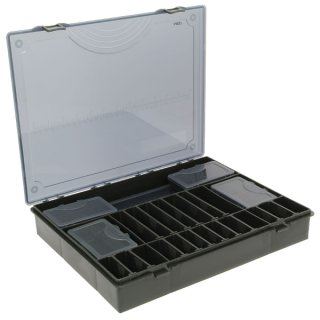 Tackle Box System 7 in 1 in Schwarz