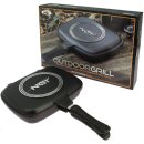 Double Grill Pan - Non Stick Die Cast Grill Pan