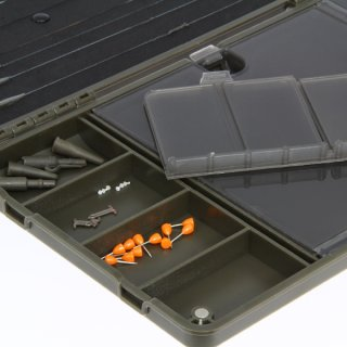 NGT XPR PLUS Box - Terminal Tackle und Rig Board Magnetische Tackle Box